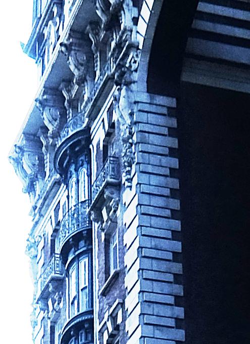 NY屈指の美建築、ボザール様式の高級住宅コープ、ザ・ドリルトン (The Dorilton、1902年竣工)_b0007805_01495166.jpg