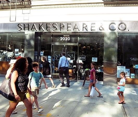 22年ぶりにNYで復活した伝説の本屋さん シェイクスピア&カンパニー(Shakespeare & Co)_b0007805_04473976.jpg