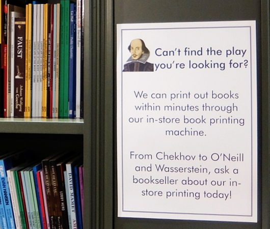 22年ぶりにNYで復活した伝説の本屋さん シェイクスピア&カンパニー(Shakespeare & Co)_b0007805_06154180.jpg