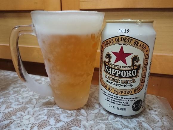 8/12 サッポロラガービール赤星2019 & アサヒ ウィルキンソンドライレモン7%_b0042308_09514190.jpg