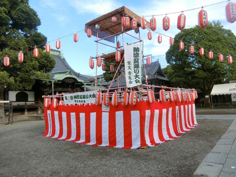 8月13日(火)青友会の盆踊り始まる_d0278912_22444361.jpg