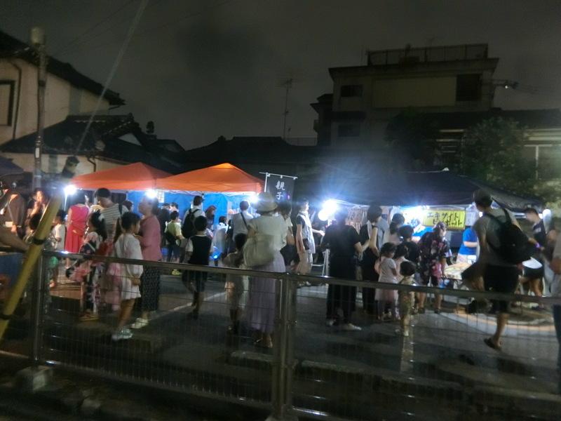 8月13日(火)青友会の盆踊り始まる_d0278912_22451852.jpg