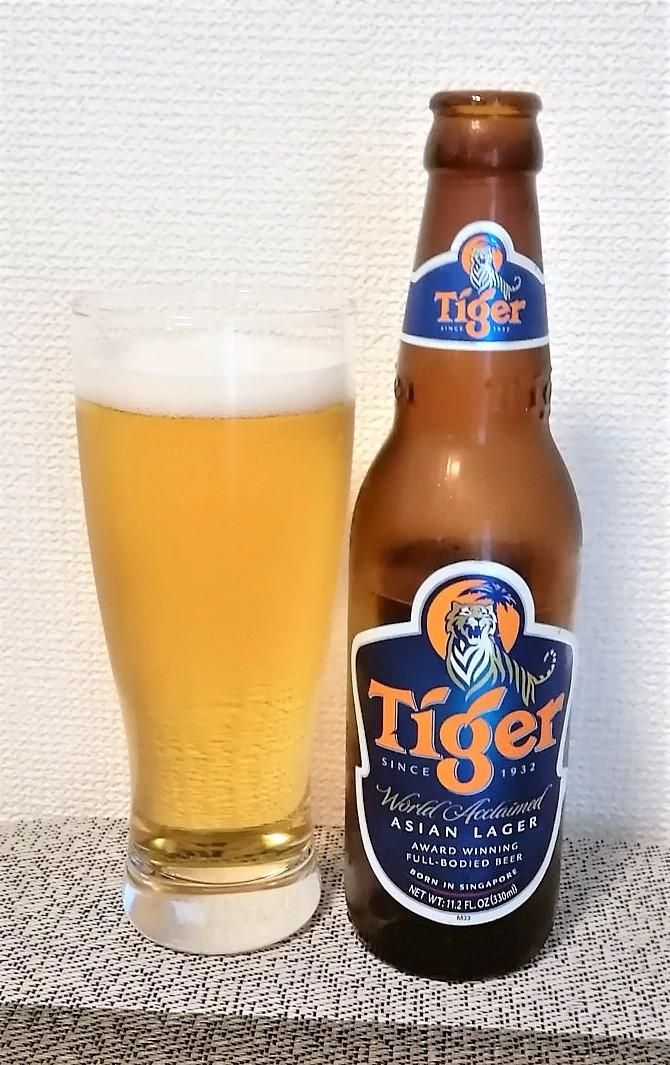 Tiger(タイガー)~麦酒酔噺その1,065~ポテンヒットすけど。。_b0081121_21102436.jpg