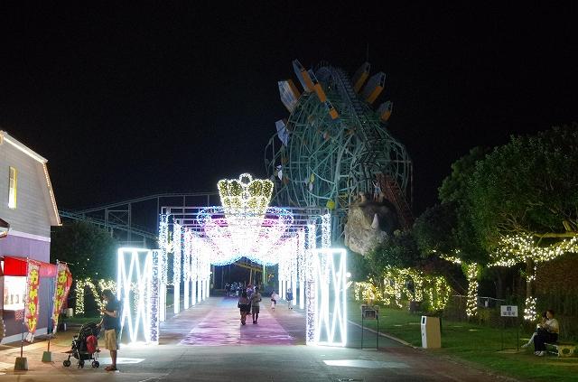 遊園地のイルミネーション_d0052327_8465846.jpg