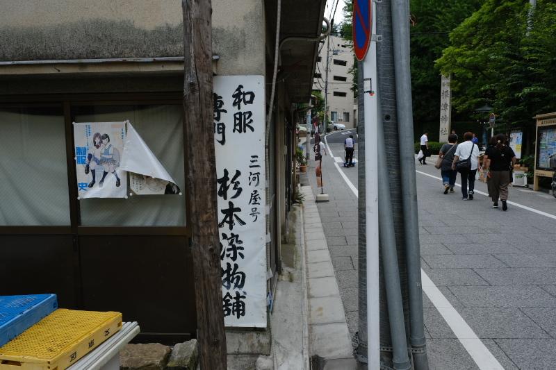 東京の坂道 #37-2 根津神社参道_f0079061_19012499.jpg