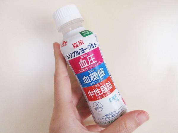 【森永乳業】トリプルヨーグルト、飲み始めて2週間_c0152767_21515875.jpg