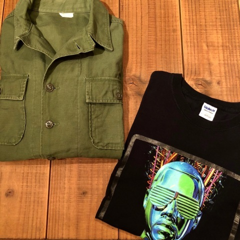 "1963 "" U.S AIR FORCE \"" 100% cotton SATEEN - OG 107 FATIGUE SHIRTS - 1st MODEL(後期) - ._d0172088_15543008.jpg"