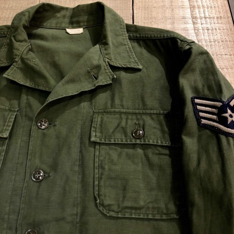 "1963 "" U.S AIR FORCE \"" 100% cotton SATEEN - OG 107 FATIGUE SHIRTS - 1st MODEL(後期) - ._d0172088_16062862.jpg"
