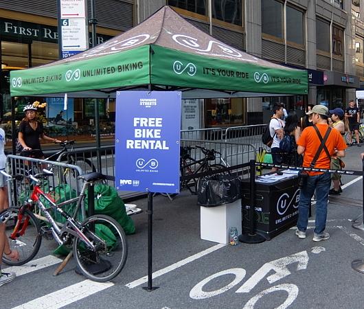 Summer Streets、無料の貸し出し自転車と駐輪場_b0007805_19351736.jpg