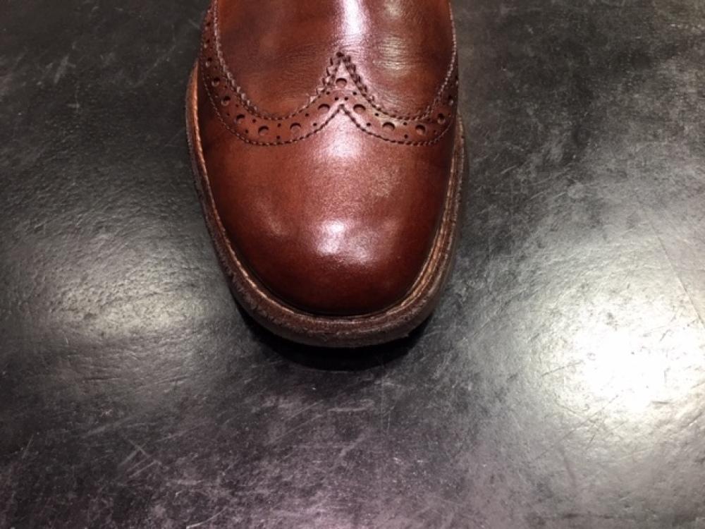 靴の色味より濃いクリームを使ってみました。(前篇)_b0226322_13334945.jpg