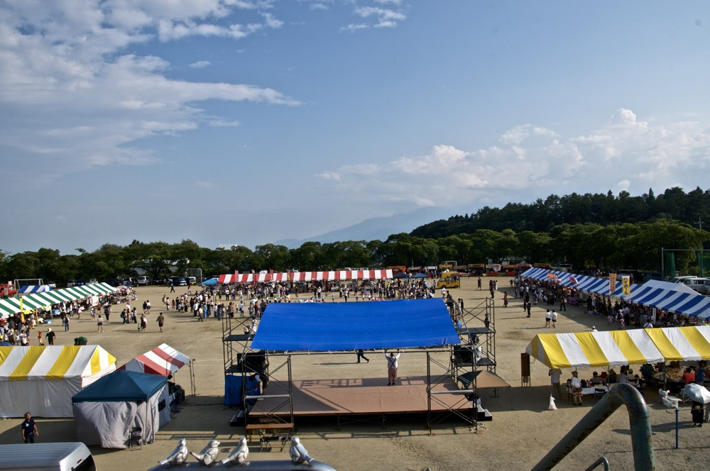 2019年8月11日北杜市大泉ふるさと夏祭りBMXパフォーマンスショー_b0065730_7472053.jpg