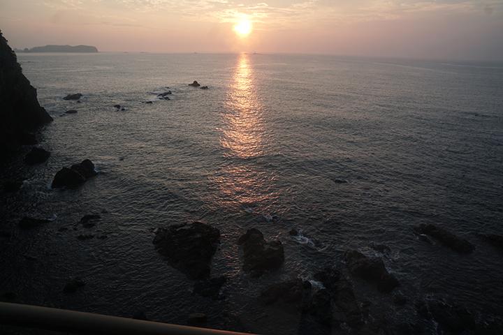 2019年7月28日 朝陽(ホテル浦島にて)_c0188434_07190235.jpg
