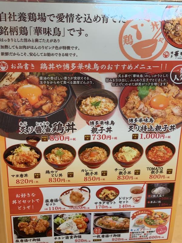 綾子丼とオムライス  ららぽーと立川立飛_a0359239_13552888.jpg
