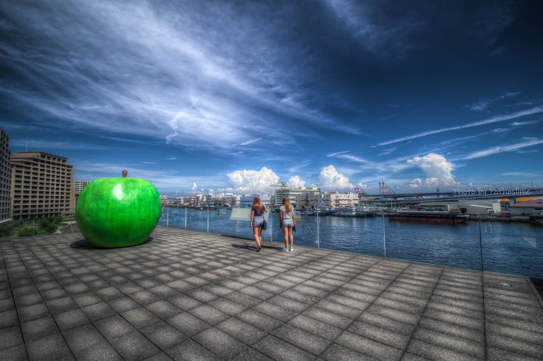 青りんごの夏_b0259669_00403781.jpg