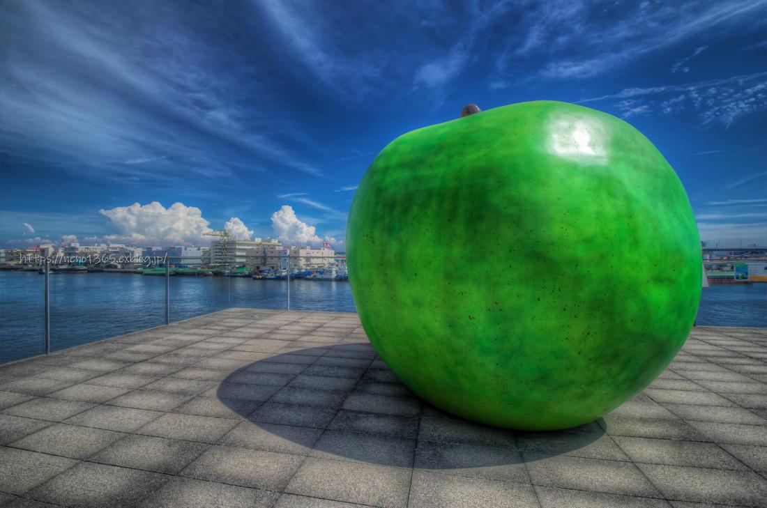 青りんごの夏_b0259669_00492350.jpg