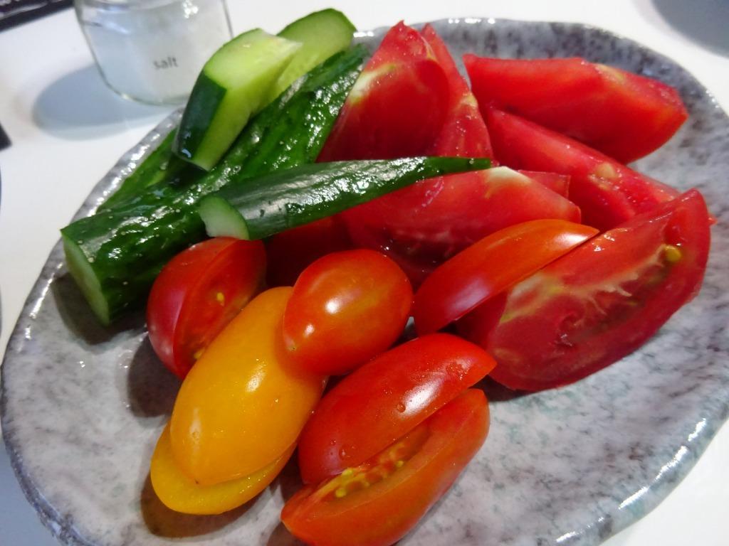実家からの野菜2019 第二段!帰省時に収穫した分!_d0061678_12115725.jpg