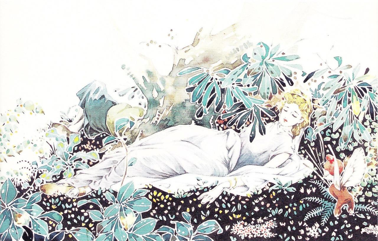 松本かつぢ画の「真夏の夜の夢」_c0084183_11412588.jpg