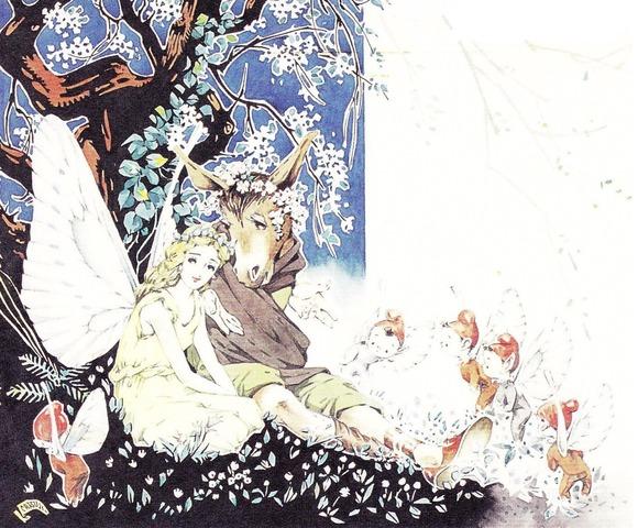 松本かつぢ画の「真夏の夜の夢」_c0084183_11422837.jpg
