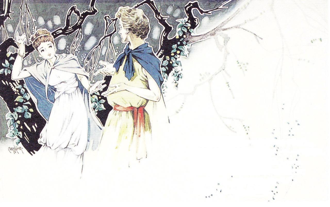 松本かつぢ画の「真夏の夜の夢」_c0084183_1142423.jpg
