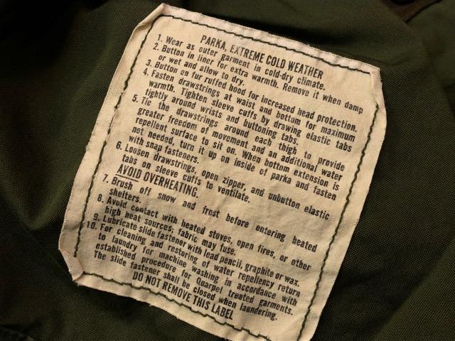 8月17日(土)マグネッツ大阪店、秋スーペリア入荷!! #1 U.S.Military Part1編!M-65 FishtailParka & NightDesertFishtail!!_c0078587_1914340.jpg
