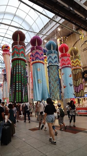 藤田八束の日本の祭り@華やかな仙台七夕まつり、観光客でにぎわう定禅寺通り・・・鉄道写真_d0181492_09013206.jpg