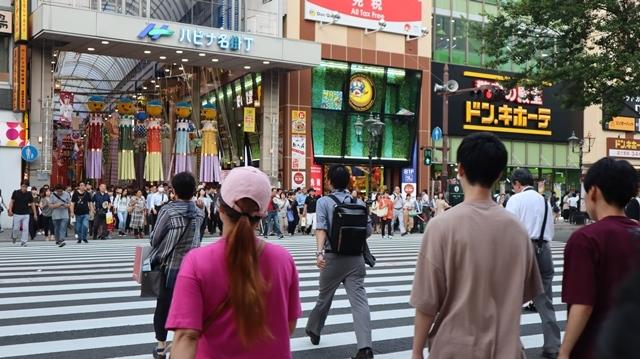 藤田八束の日本の祭り@華やかな仙台七夕まつり、観光客でにぎわう定禅寺通り・・・鉄道写真_d0181492_09014947.jpg
