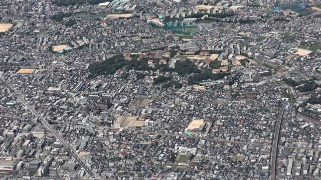 藤田八束の飛行機の魅力@ANAからの情景、飛行機から我が家が見える? 我が町西宮市も良いものだ、伊丹空港の魅力_d0181492_20463929.jpg