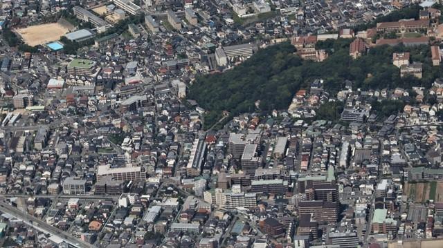 藤田八束の飛行機の魅力@ANAからの情景、飛行機から我が家が見える? 我が町西宮市も良いものだ、伊丹空港の魅力_d0181492_20480339.jpg