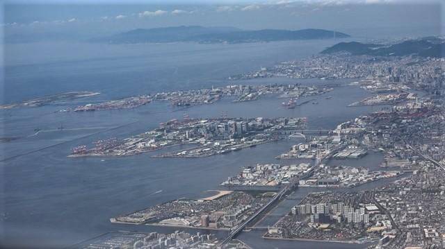 藤田八束の飛行機の魅力@ANAからの情景、飛行機から我が家が見える? 我が町西宮市も良いものだ、伊丹空港の魅力_d0181492_20481123.jpg