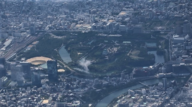藤田八束の飛行機の魅力@ANAからの情景、飛行機から我が家が見える? 我が町西宮市も良いものだ、伊丹空港の魅力_d0181492_20485436.jpg