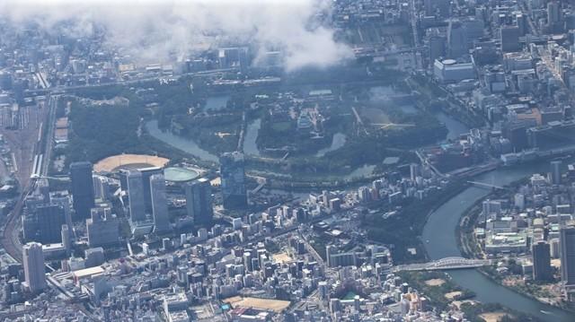 藤田八束の飛行機の魅力@ANAからの情景、飛行機から我が家が見える? 我が町西宮市も良いものだ、伊丹空港の魅力_d0181492_20492178.jpg