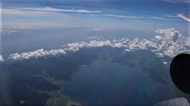 藤田八束の飛行機の魅力@ANAからの情景、飛行機から我が家が見える? 我が町西宮市も良いものだ、伊丹空港の魅力_d0181492_20505655.jpg