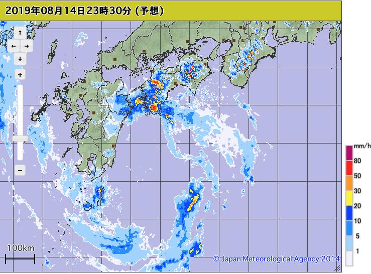 巨大台風10号クローサ上陸中:突如巨大台風化???韓国人が大喜び!_a0348309_108556.png