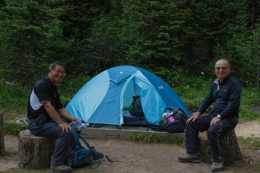 アシニボインキャンプ2泊3日 ダブルピークハンティングの旅_d0112928_08422202.jpg