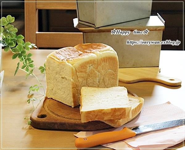 湯種食パンとリク♪_f0348032_16110455.jpg