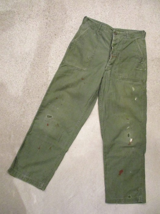 60\'s 70\'s U.S ARMY UTILITY PANTS ベーカーパンツ 雰囲気系_e0187362_15053414.jpg
