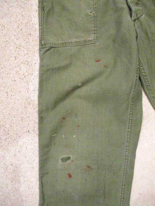 60\'s 70\'s U.S ARMY UTILITY PANTS ベーカーパンツ 雰囲気系_e0187362_15140469.jpg