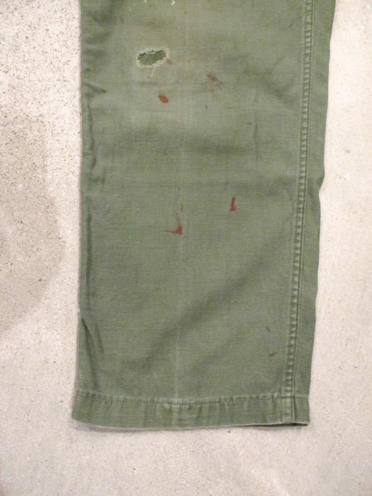 60\'s 70\'s U.S ARMY UTILITY PANTS ベーカーパンツ 雰囲気系_e0187362_15142376.jpg