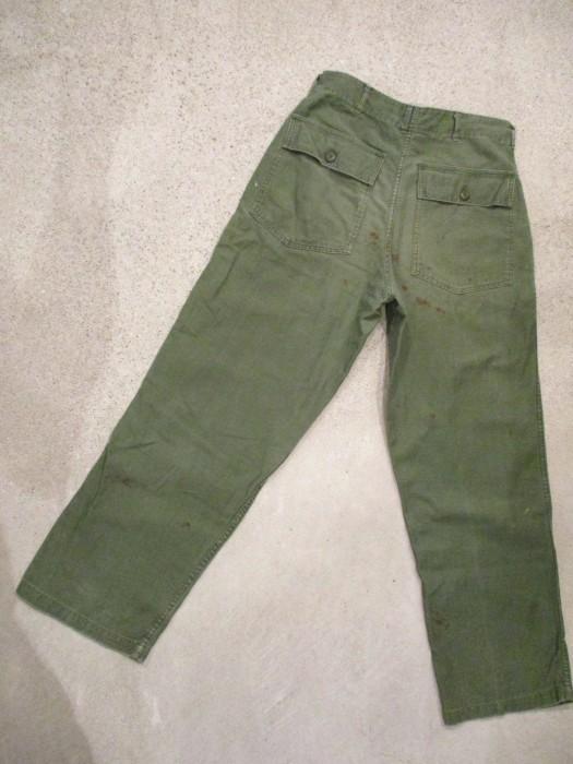 60\'s 70\'s U.S ARMY UTILITY PANTS ベーカーパンツ 雰囲気系_e0187362_15152146.jpg