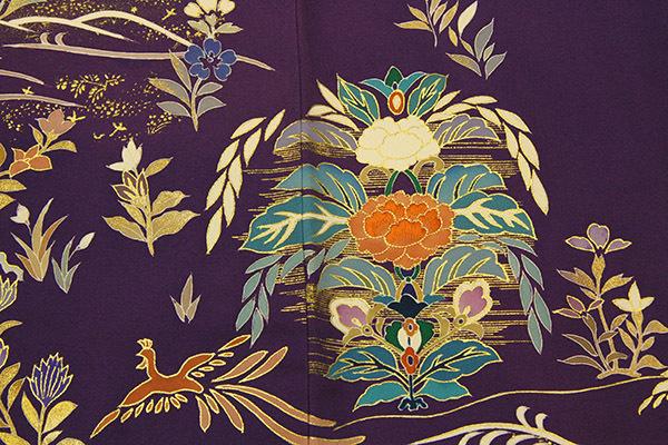 深い紫が映える、上質洗練の色留袖が入荷しました。_b0098077_19242467.jpg