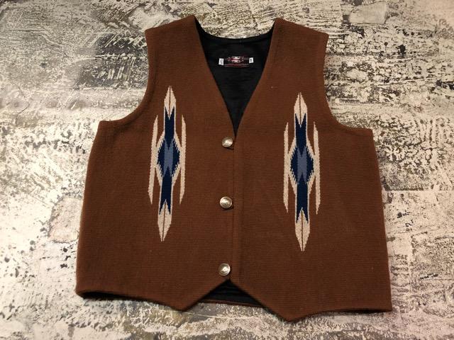 8月17日(土)マグネッツ大阪店、秋スーペリア入荷!! #4 Vest & Leather編! ChimayoVest & COACH CowhideLeatherBag!!_c0078587_13474535.jpg