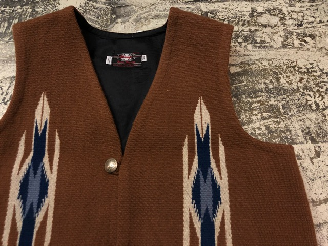 8月17日(土)マグネッツ大阪店、秋スーペリア入荷!! #4 Vest & Leather編! ChimayoVest & COACH CowhideLeatherBag!!_c0078587_13485284.jpg