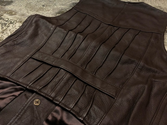 8月17日(土)マグネッツ大阪店、秋スーペリア入荷!! #4 Vest & Leather編! ChimayoVest & COACH CowhideLeatherBag!!_c0078587_13585646.jpg