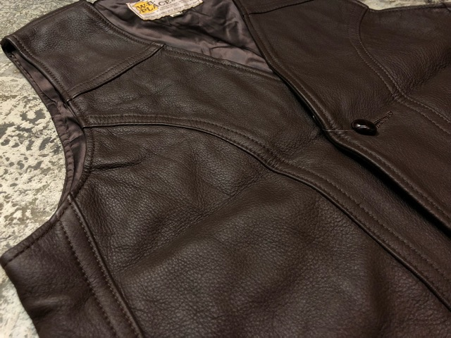 8月17日(土)マグネッツ大阪店、秋スーペリア入荷!! #4 Vest & Leather編! ChimayoVest & COACH CowhideLeatherBag!!_c0078587_1359855.jpg