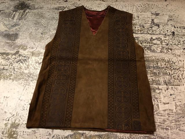 8月17日(土)マグネッツ大阪店、秋スーペリア入荷!! #4 Vest & Leather編! ChimayoVest & COACH CowhideLeatherBag!!_c0078587_1424470.jpg