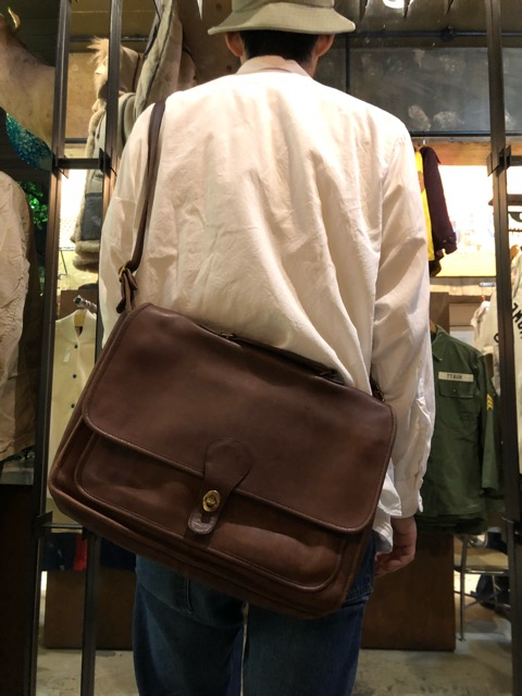 8月17日(土)マグネッツ大阪店、秋スーペリア入荷!! #4 Vest & Leather編! ChimayoVest & COACH CowhideLeatherBag!!_c0078587_16451461.jpg