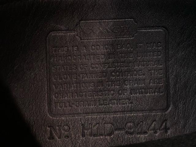 8月17日(土)マグネッツ大阪店、秋スーペリア入荷!! #4 Vest & Leather編! ChimayoVest & COACH CowhideLeatherBag!!_c0078587_16462893.jpg