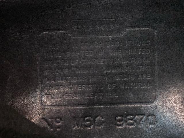 8月17日(土)マグネッツ大阪店、秋スーペリア入荷!! #4 Vest & Leather編! ChimayoVest & COACH CowhideLeatherBag!!_c0078587_16501645.jpg