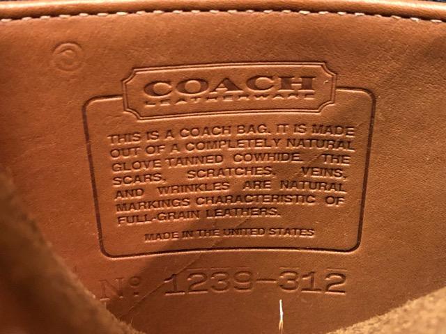 8月17日(土)マグネッツ大阪店、秋スーペリア入荷!! #4 Vest & Leather編! ChimayoVest & COACH CowhideLeatherBag!!_c0078587_16525298.jpg