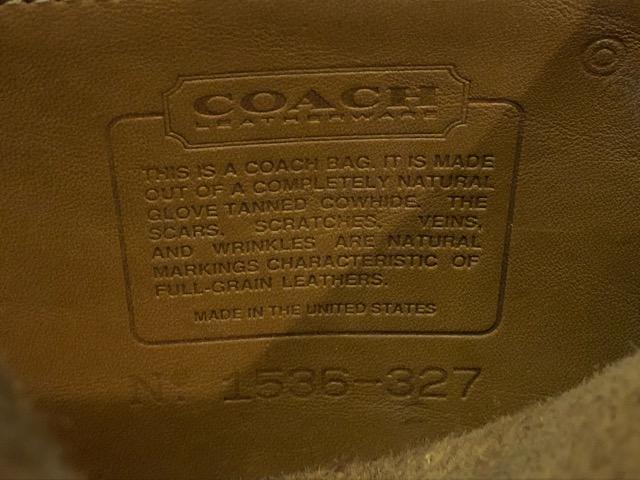 8月17日(土)マグネッツ大阪店、秋スーペリア入荷!! #4 Vest & Leather編! ChimayoVest & COACH CowhideLeatherBag!!_c0078587_16542761.jpg